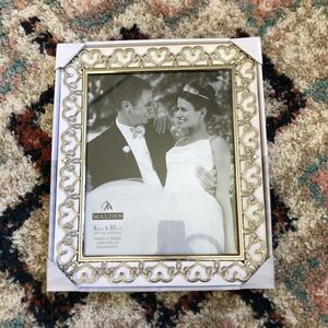 Wedding Hearts Picture Frame Sz 8x10